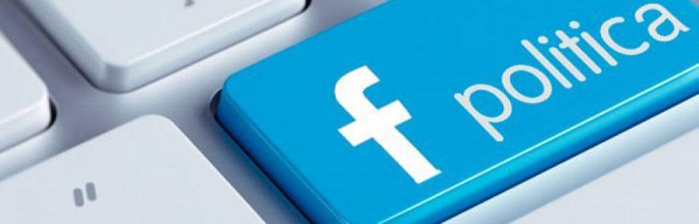 Facebook fa politica?