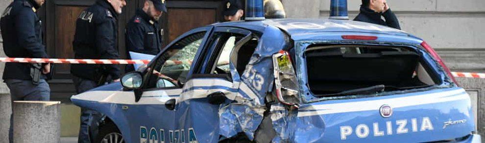 Incidente auto polizia