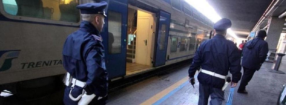 Treno polizia ferroviaria