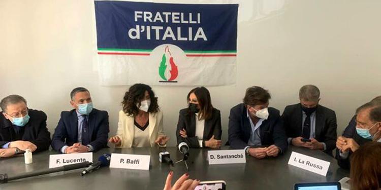 Baffi Patrizia in Fratelli d'Italia